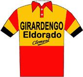 Girardengo-Eldorado-Clement - Giro d'Italia 1955