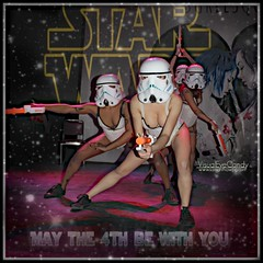 May The 4th Be With You! From Winnipeg Body Painting