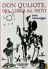 Jean Canavaggio, Don Quijote del libro almito