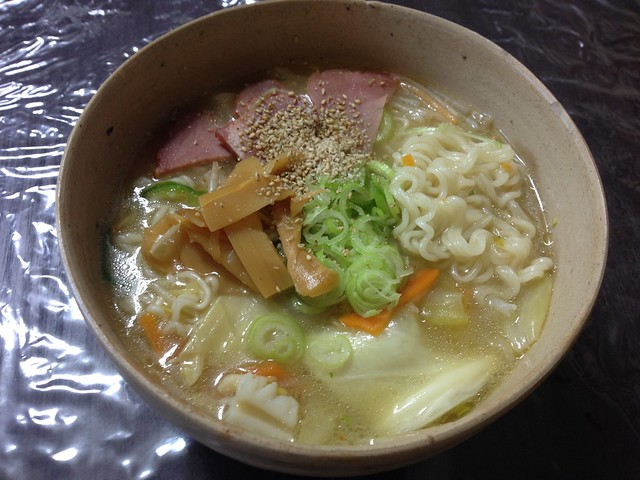 """Instant Chinese noodles saltiness """"SAPPORO ICHIBAN"""""""