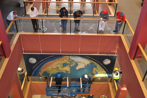 06.13.16 Kingman Mural Installation at W. Dale Clark Main Library