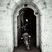 Motorcycle In The Doorway
