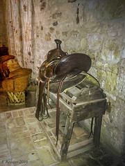 Old Saddle Rack