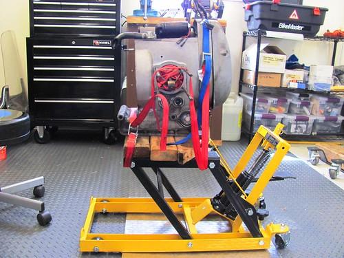 Make-do Engine Stand