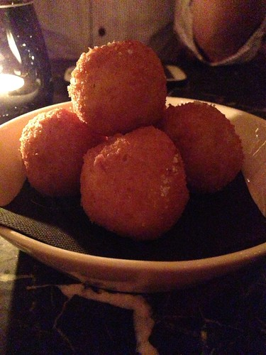 Truffled Mac & Cheese Balls at 28 HongKong Street