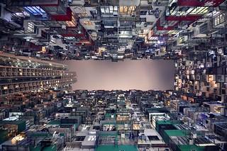 【高清组图】摄影师纵拍香港完美天际线