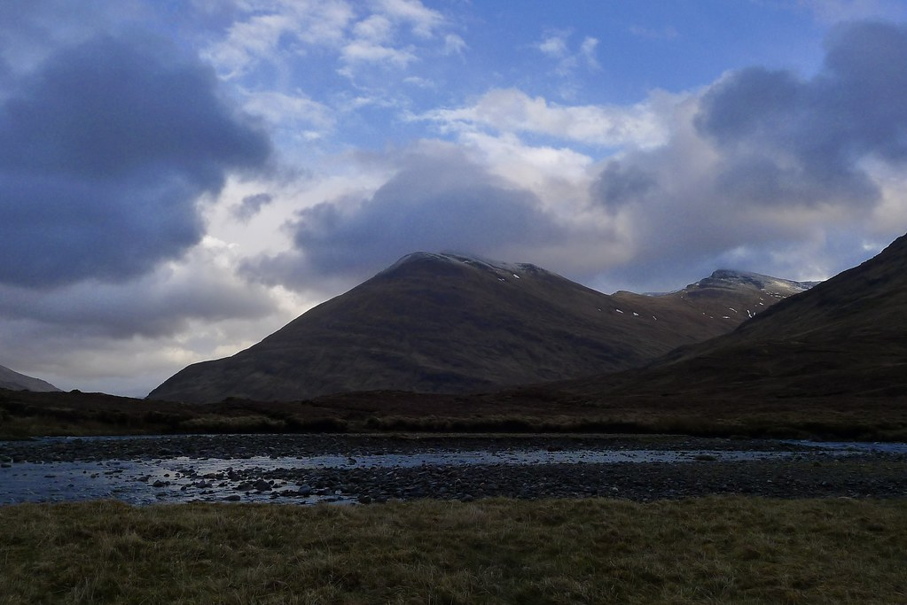 Beinn Fionnlaidh from camp