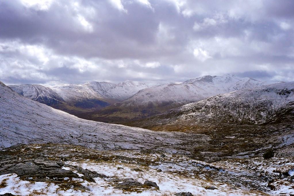 Into Affric from Bealach Coire Ghaidheil