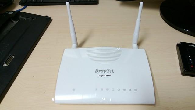 draytek vigor 2760n wireless router flickr   photo sharing
