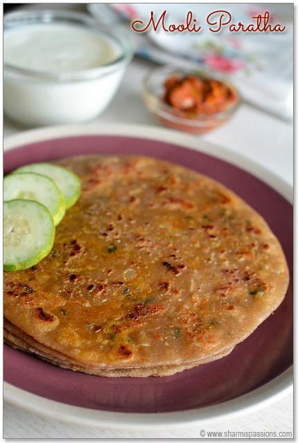 Punjabi Mooli ka Paratha Recipe