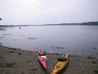Rest stop on goat island