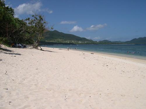 【写真】離島めぐり : 米原ビーチ