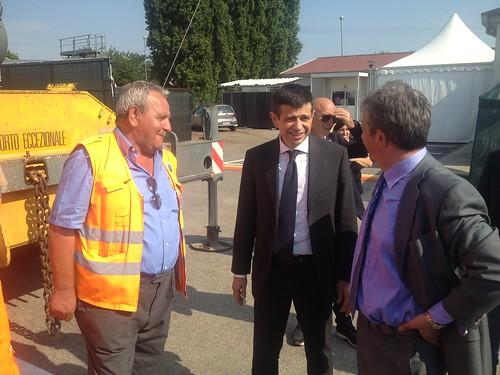 Ministro Lupi inaugura lavori autostrada a4 torino milano 1 luglio 2013 (5)