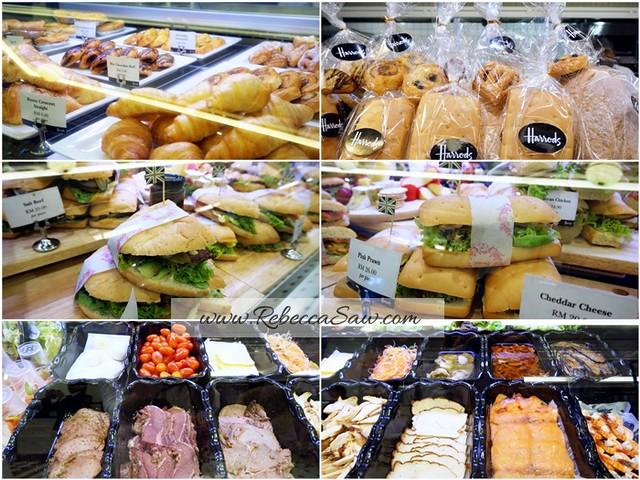 KLCC harrods cafe - tea, scones, sandwiches, cakes