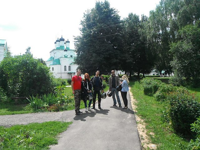 Moscow to Alexandrov and Sergiev Posad Motorcycle Trip