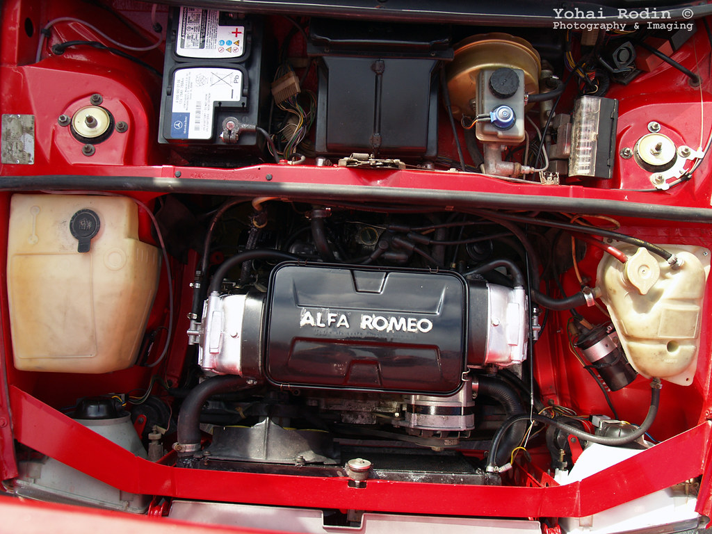 Alfa Romeo 33 Engine Bay