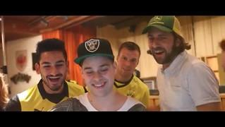 Ilkay Gündogan trägt das neue Champions League-Trikot von Borussia Dortmund (BVB)