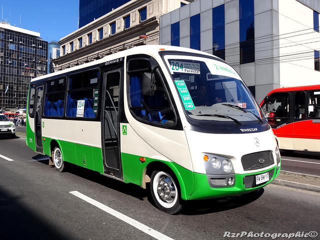 2 Viña Bus   Línea 204.