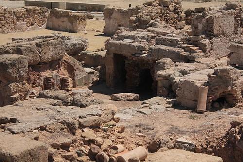 Paphos, Parco archeologico: casa di Teseo