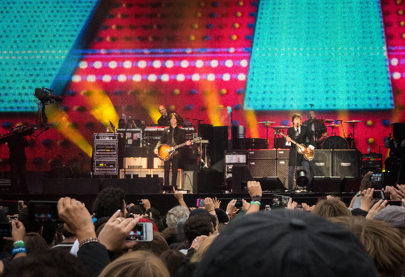 Paul McCartney takes the stage at Outside Lands 2013