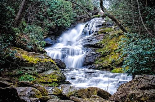 mountain georgia waterfall stream slowshutter mudcreekfalls thephotographyblog kylepmillerphotography