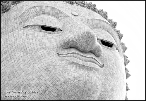 Big Buddha of Phuket, Close Up, July 2013