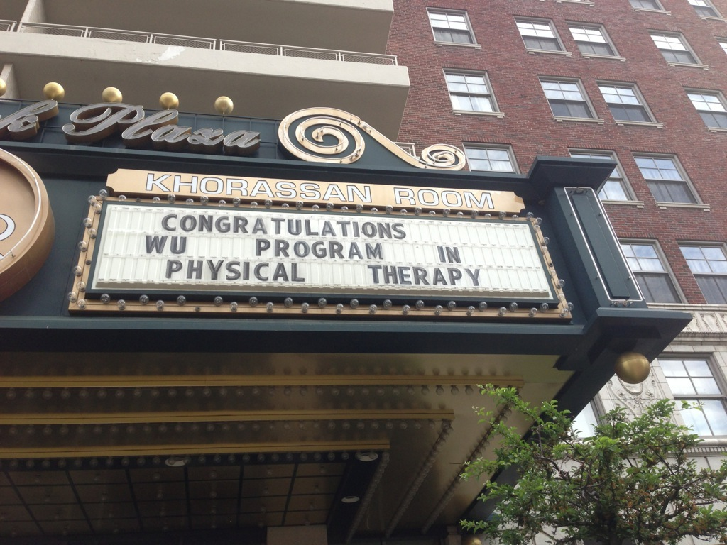 Program in Physical Therapy Diploma Distribution & Hooding Ceremony 2013
