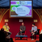Will Morris and Edward Ross talk graphic novels |