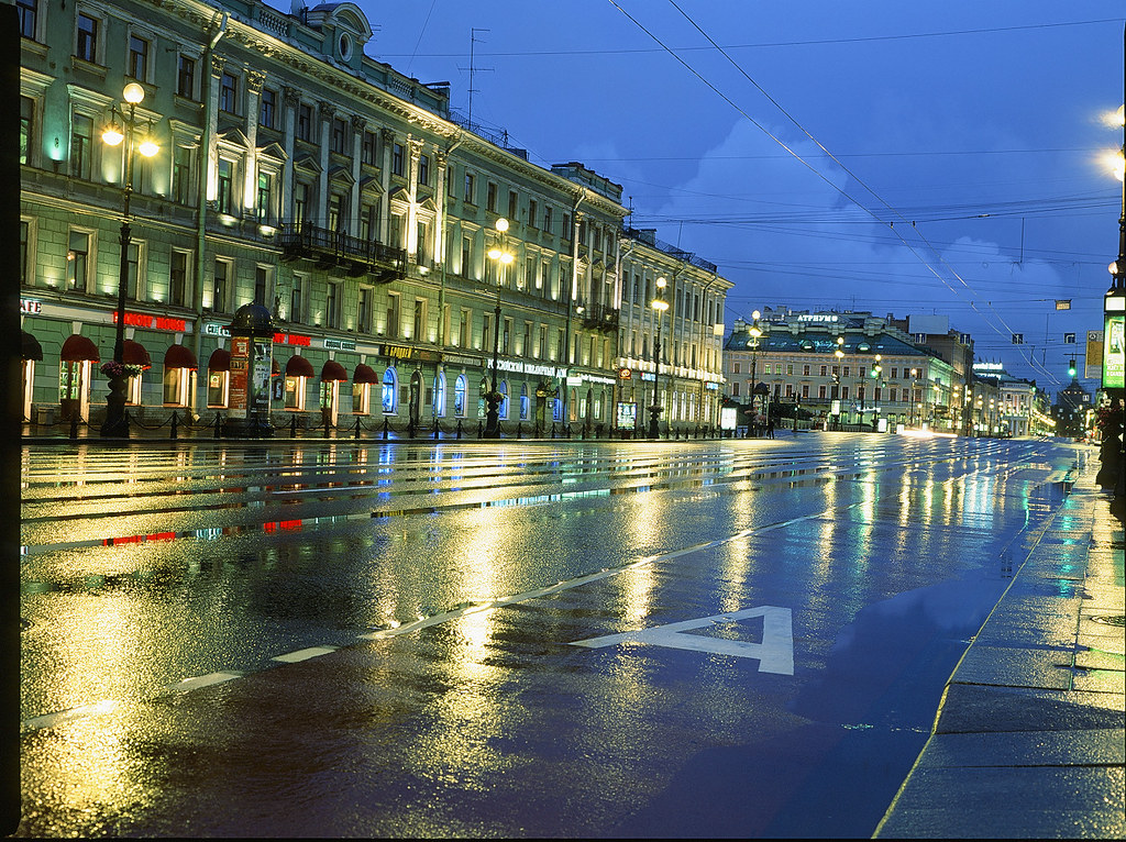 Nevsky at night