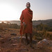IMG_8933 Maasai man at dawn Loita Hills Kenya