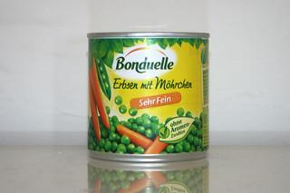 07 - Zutat Erbsen & Möhren / Ingredient peas & carrots
