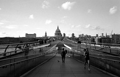 Contax G1, Millenium Bridge, London