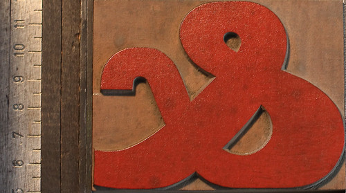 Ampersand red