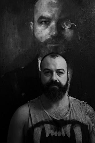 Μιχάλης τσακούντης (ζωγράφος ) by stefanos_kastrinakis