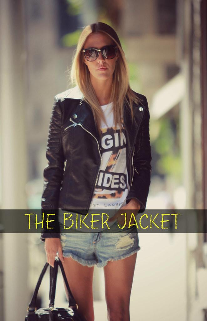 style lover biker jacket I
