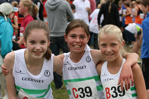 U13G Team by Guernsey Athletics