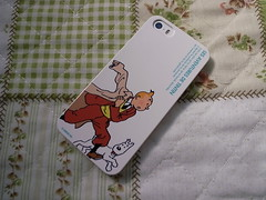 TINTIN iPhone 5 case
