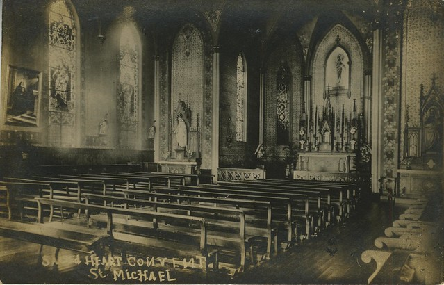 Interior of St. Michael's Convent Order of the Sacred Heart, Convent, Louisiana