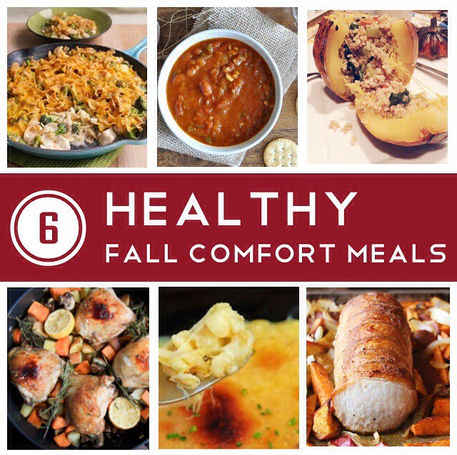 Healthy fall foods, healthy comfort foods, light fall meals, fall food, healthy food