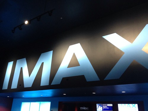 The IMAX screen in Savannah.
