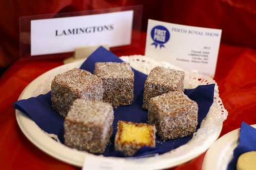 Perth Royal Show 2013 - Blue Ribbon Lamingtons
