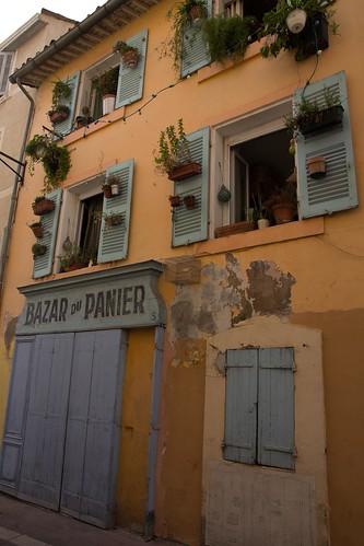 Spaziergang durch Le Parnier