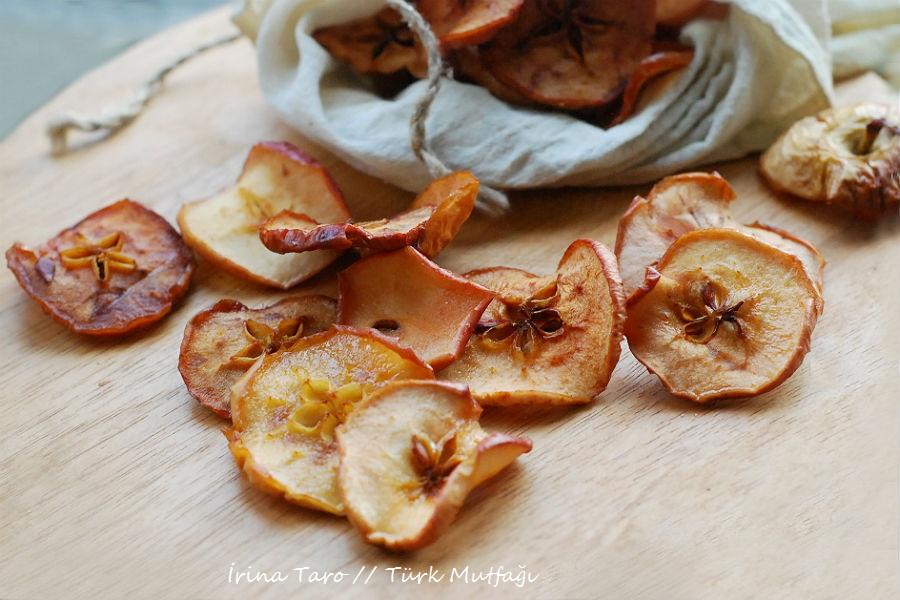 Рецепт сушеными яблоками фото