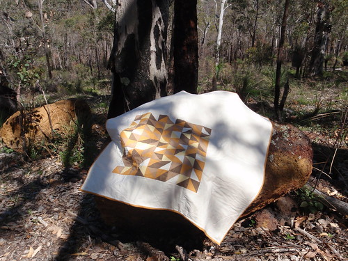 Toffee Shards quilt