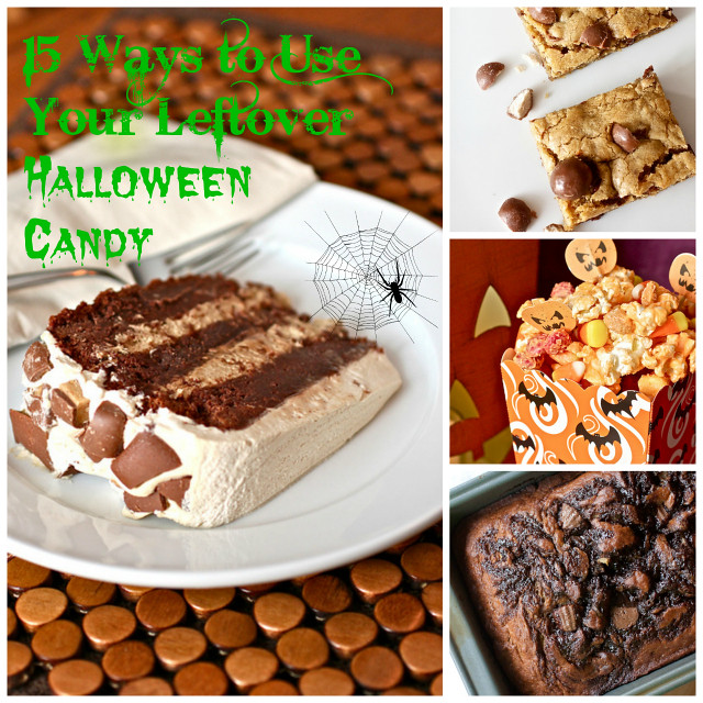 15 Ways to Use Up Your Leftover Halloween Candy