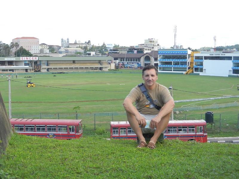 Поле для крикета, Галле Шри Ланка