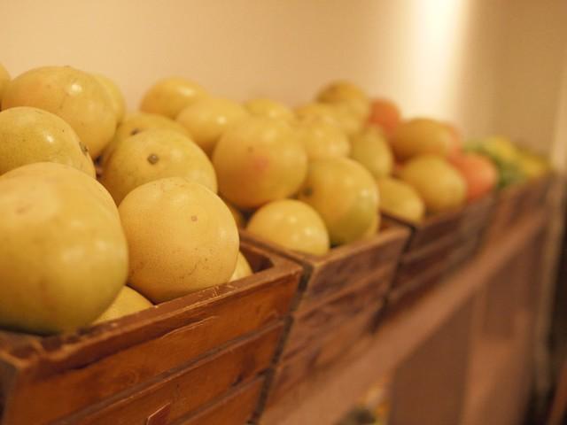 是真的水果,好香噢