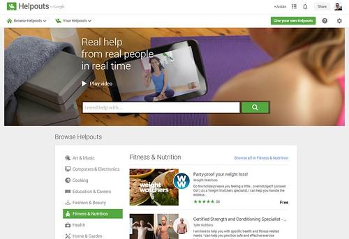 Google Helpouts   video pamokos internetu
