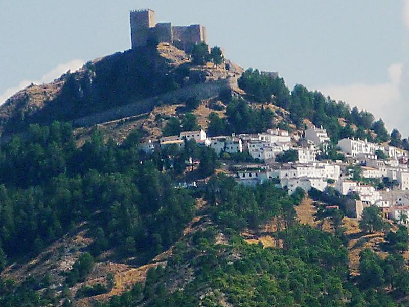 Segura de laSierra, spektakuläre Ansichten schon bei der Anreise