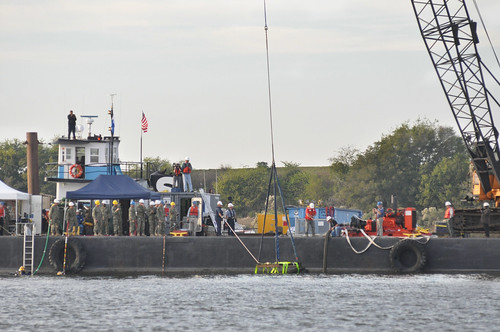 Corps retrieves piece of Civil War ironclad from Savannah River